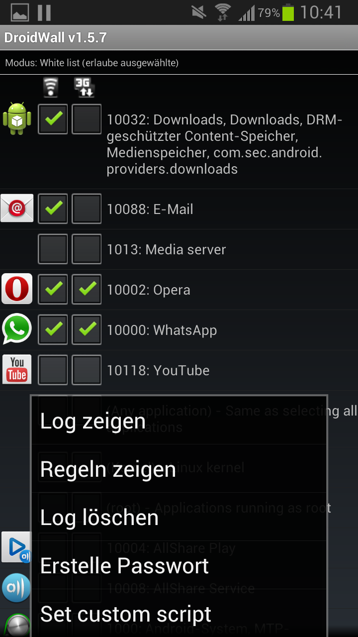 DroidWall - Android Firewall (iptables front… - Pg. 60 ...