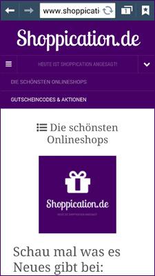 shoppication
