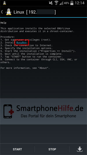 linux-deploy-android