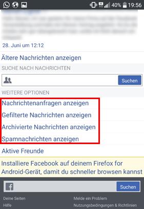 facebook nachrichten ohne messenger