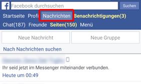 facebook nachrichten ohne messenger app